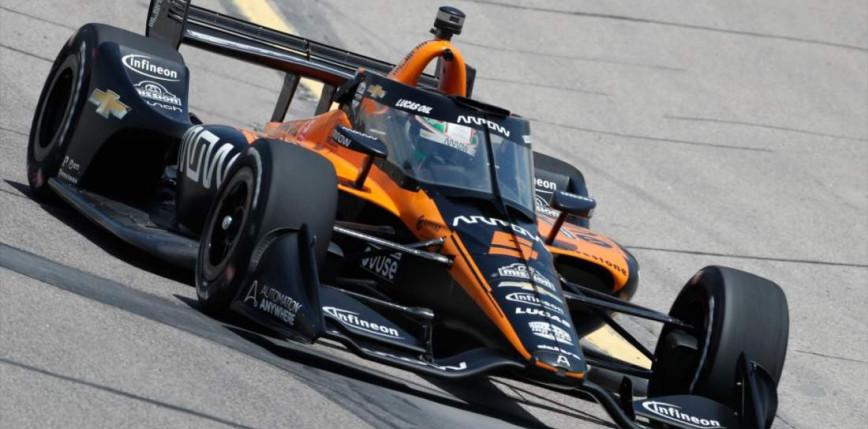 IndyCar: Pato O'Ward niespodziewanym zwycięzcą drugiego wyścigu w Detroit