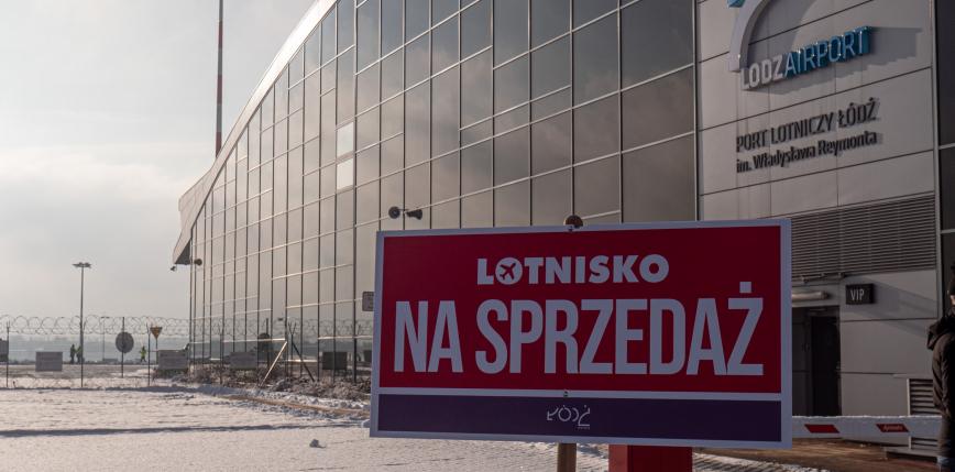 Łódź: port lotniczy odnotowuje straty, lotnisko wystawione na sprzedaż