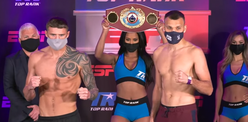 Top Rank Boxing: Joe Smith Jr z pasem WBO w wadze junior ciężkiej