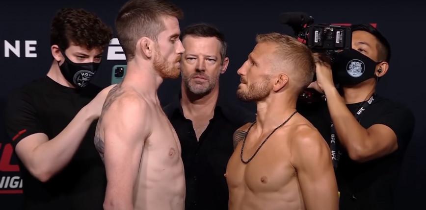 UFC Vegas 32: Dillashaw pokonuje Sandhagena po znakomitym pojedynku