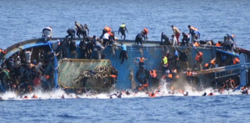 Akcja ratunkowa na kanale La Manche. Zatonęła łódź z migrantami