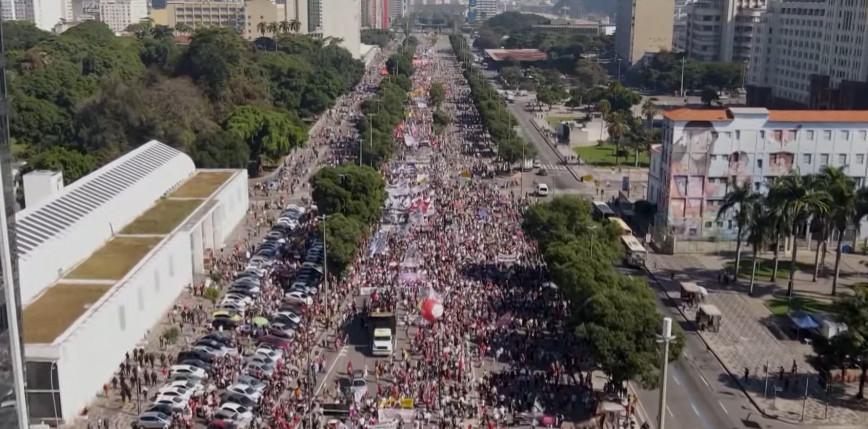 Brazylia: masowe protesty przeciwko prezydentowi Bolsonaro