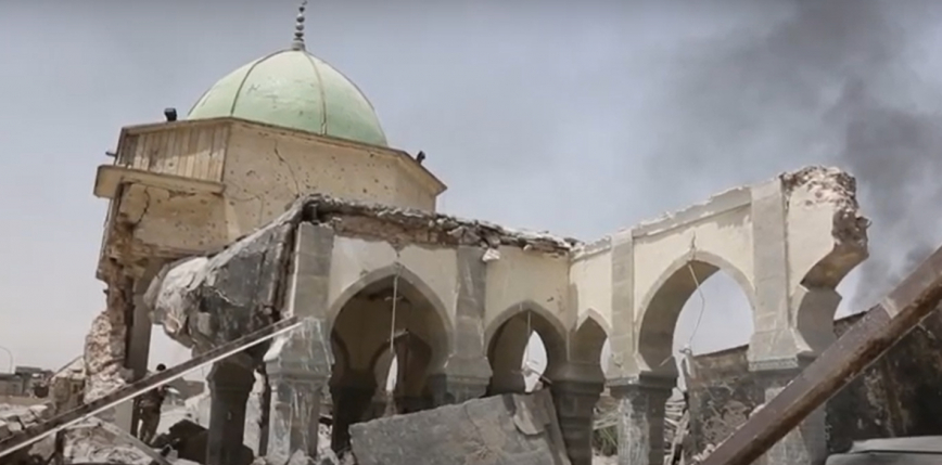Zabytkowymeczet w Mosulu zostanie odbudowany