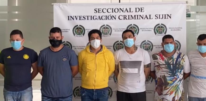 Kolumbia: zatrzymano 6 domniemanych zabójców z kartelu Los Rastrojos