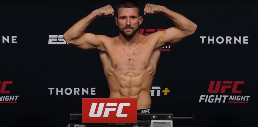 UFC Vegas 31: Mateusz Gamrot szybko poddaje Jeremy'ego Stephensa