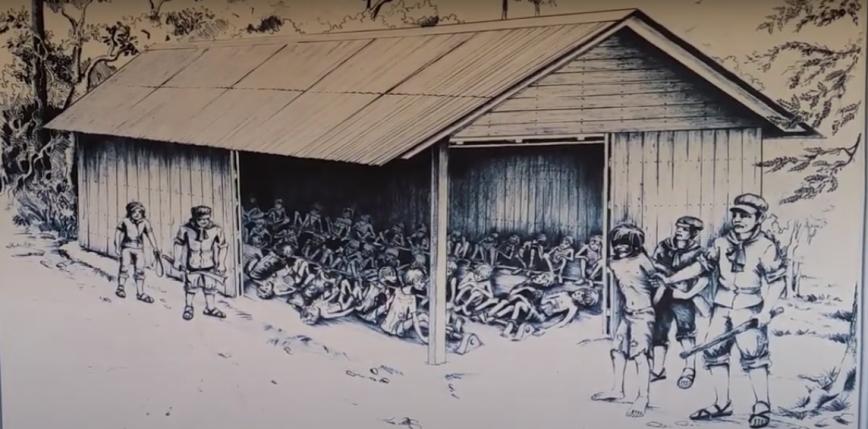 Sfałszowane i przekoloryzowane zdjęcia z Kambodży z lat 70.
