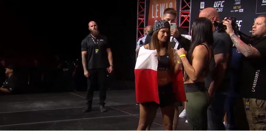 UFC 265: Karolina Kowalkiewicz przegrywa w pierwszej rundzie