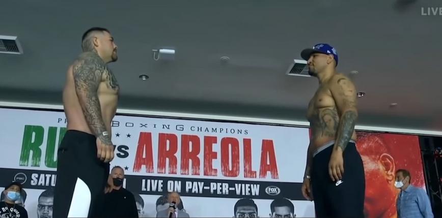 Boks: Andy Ruiz Jr wygrywa jednogłośnie na punkty z Chrisem Arreolą