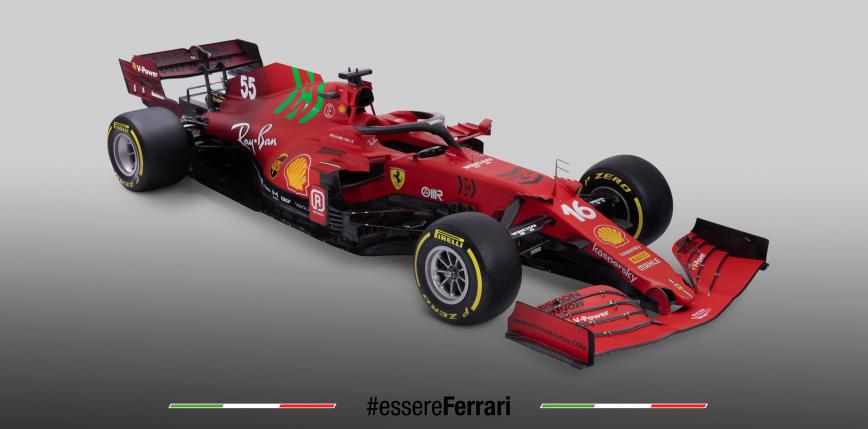 Formuła 1: Ferrari SF21 - oficjalna prezentacja bolidu