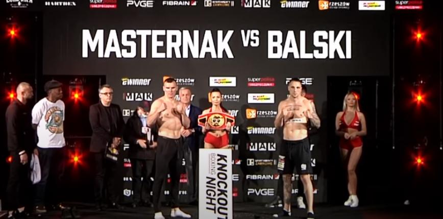 Knockout Boxing Night 15: Mateusz Masternak pewnie pokonuje Adama Balskiego