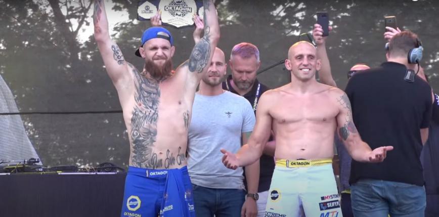Oktagon 26: Marcin Naruszczka przegrywa w walce o pas