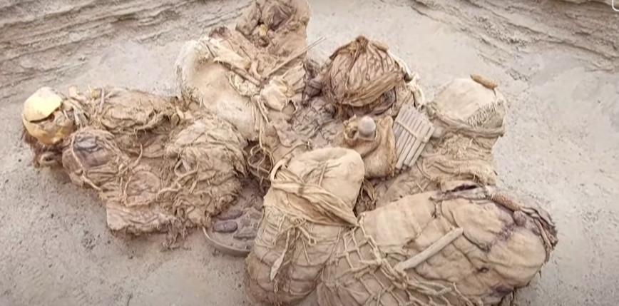 Peru: pracownicy gazociągów znaleźli 800-letnie szczątki