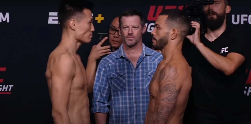 UFC Vegas 29: Chan Sung Jung wypunktował Dana Ige