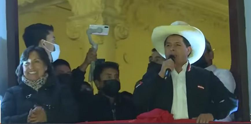 Peru: Pedro Castillo nowym prezydentem