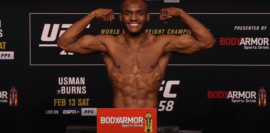 UFC 258: Kamaru Usman nadal mistrzem wagi półśredniej