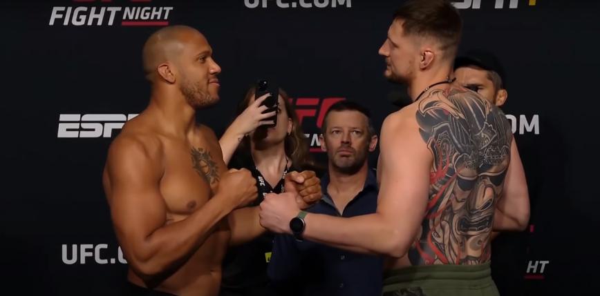 UFC Vegas 30: Ciryl Gane wygrywa w walce wieczoru