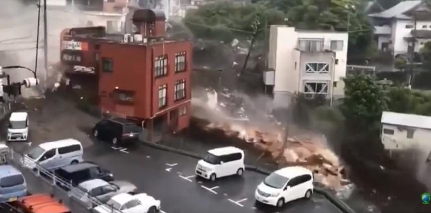 Japonia: co najmniej 20 zaginionych w wyniku lawin błotnych