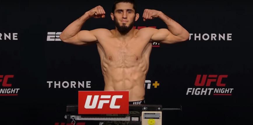 UFC Vegas 31: Islam Makhachev górą w walce wieczoru