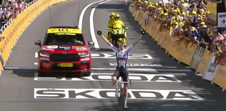 Tour de France: Matej Mohorić po raz drugi w tegorocznym wyścigu