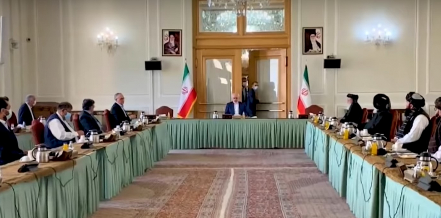 Iran: spotkanie afgańskiej delegacji rządowej z talibami