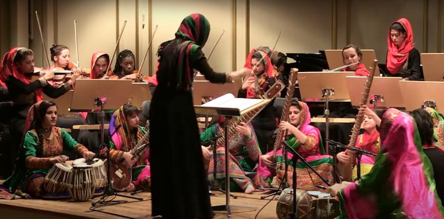 Afgańska szkoła muzyczna milknie pod rządami talibów