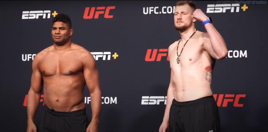 UFC Fight Night 184: Volkov pokonuje Alistaira Overeema
