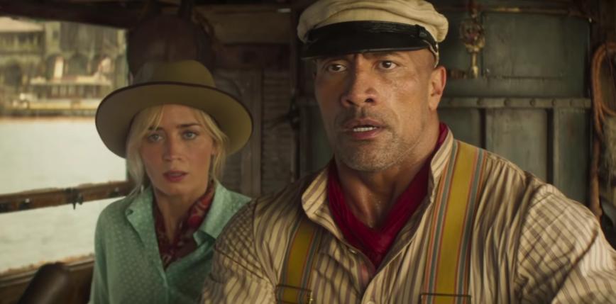 """Emily Blunt i Dwayne Johnson w nowym zwiastunie """"Wyprawy do dżungli"""""""