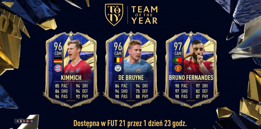 FIFA 21 TOTY: pomocnicy TOTY już dostępni w grze!