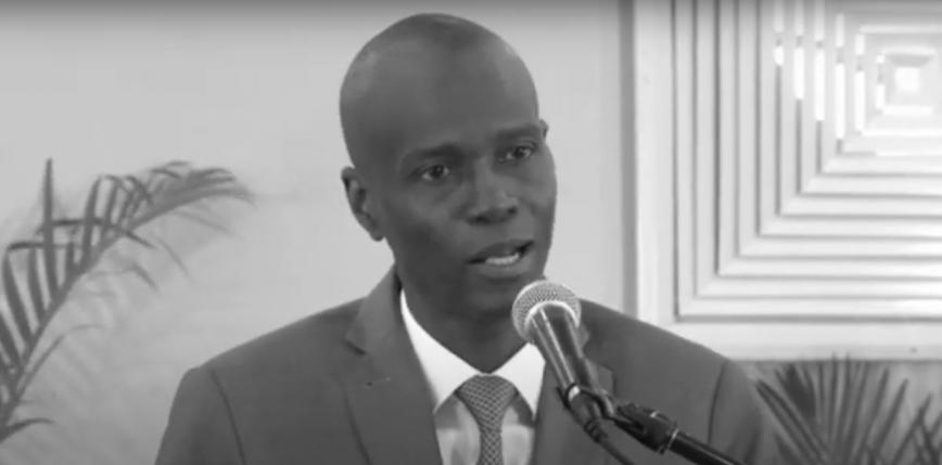 Prezydent Haiti Jovenel Moise zamordowany