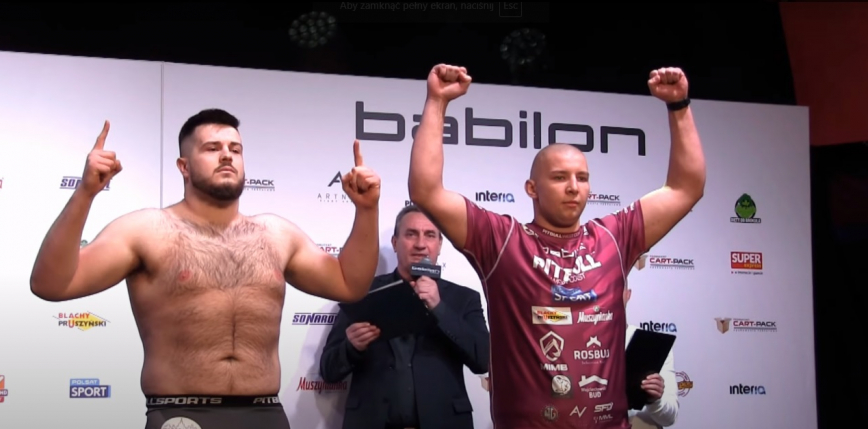 Babilon MMA 19: Kevin Szaflarski triumfuje w walce wieczoru!