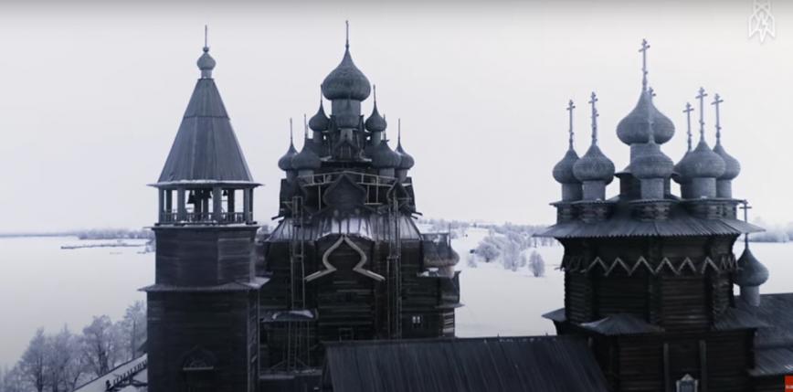 Kościół Kizhi Pogost w końcu został odrestaurowany