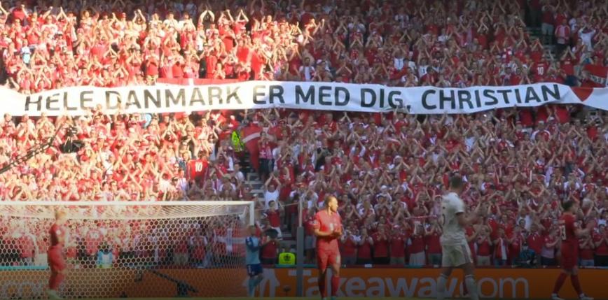 EURO 2020: emocjonujący mecz w Kopenhadze; Dania przegrywa z Belgią