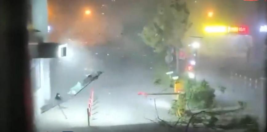 Chiny: 11 osób zginęło w związku z wystąpieniem gwałtownej burzy