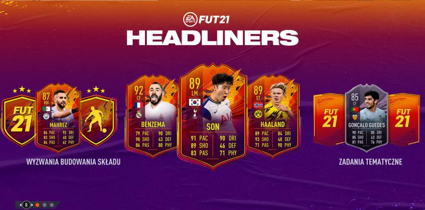 """FIFA 21: nowa drużyna """"Headliners"""""""