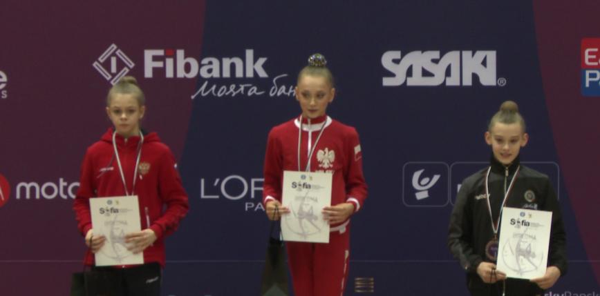 Gimnastyka artystyczna - Sofia Cup: cztery medale juniorek! Polka najlepsza w wieloboju!
